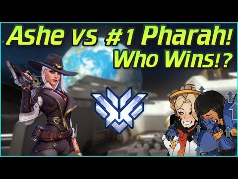 Playing Ashe vs The #1 Pharah Valkia! Who Wins? Overwatch Top 500 thumbnail