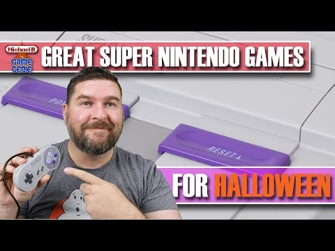 Great Super Nintendo Games For Halloween | MichaelBtheGameGenie