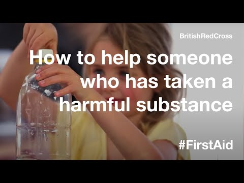 First Aid: Poison and harmful substances