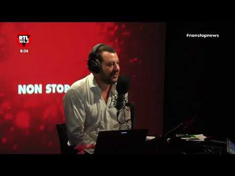 Matteo Salvini a Non Stop News dell'8 ottobre 2018