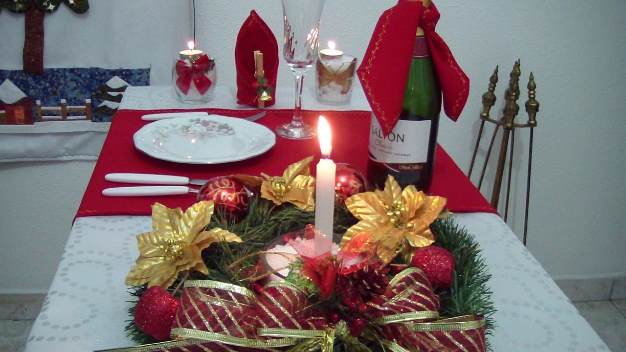 Decoraç u00e3o de Mesa de Natal Má Patchwork YouTube