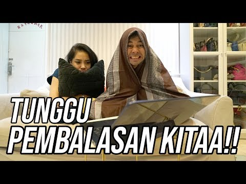 REACTION VIDEO SEPATU KW SI BAIM GILA !!!