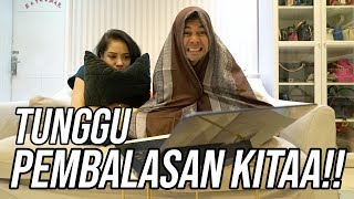 REACTION VIDEO SEPATU KW SI BAIM GILA !!!
