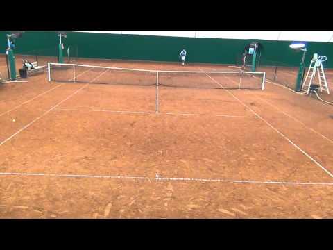 A.Locci - 18yo - 1/6 - White Jersey - Bourse Tennis USA