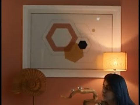 666 Hexagons Painting In Pepperfry Ad! Setting The Stage For The Antichrist!