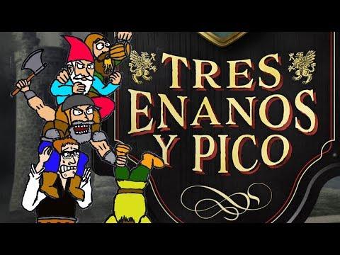 Tres Enanos y Pico, de Ángel Sanchidrián - Geek Furioso de la Literatura