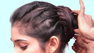 Easy & Quick Twisted Hairstyles for party || hair style girl | hairstyles || Easy hairstyles 2018