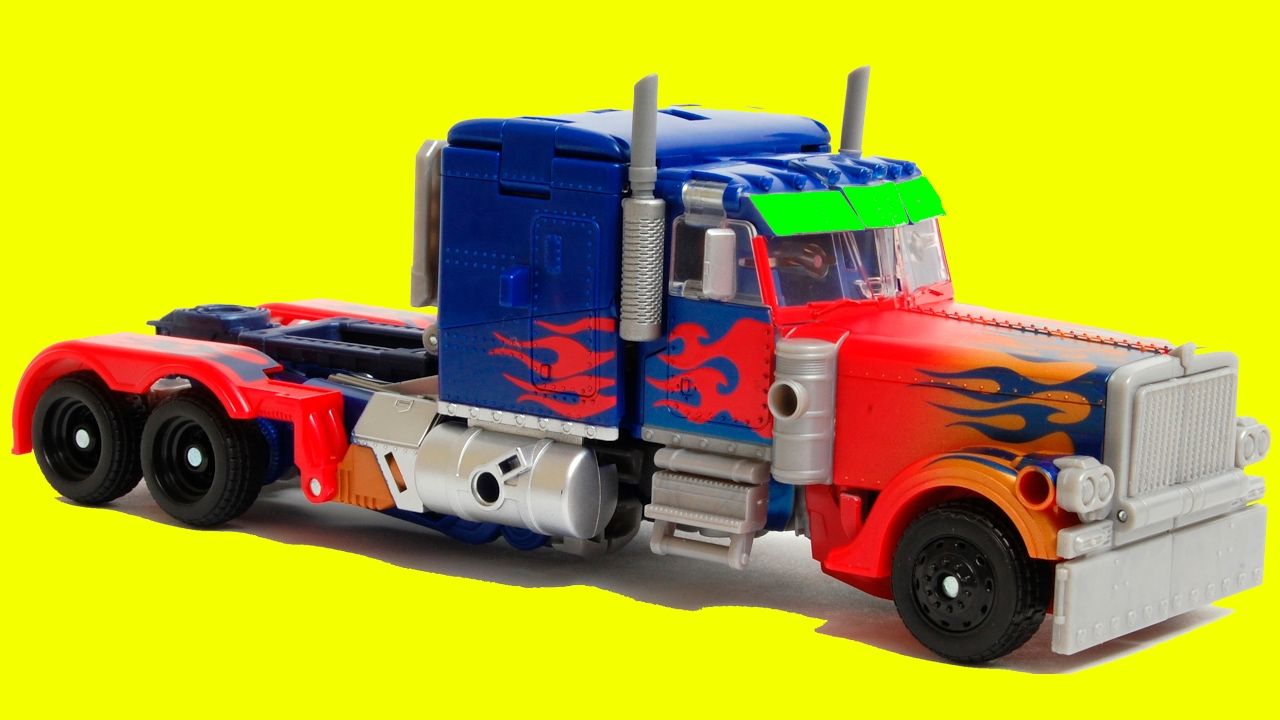 Transformers Optimus Prime 5 Vehicle Robot Car Toys Cars 3