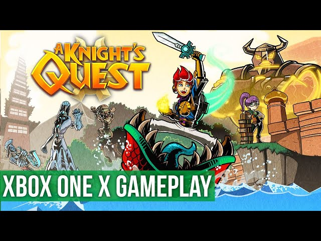 A Knights Quest - Xbox One X Gameplay / Preview