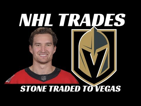 Mark Stone Traded to Vegas Golden Knights