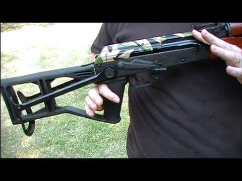 $20 Bump Fire Stock For AK47 Underfolder - 1/3