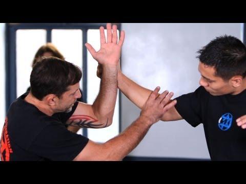 Outside Defense against Punches, Part 1   Krav Maga Defense