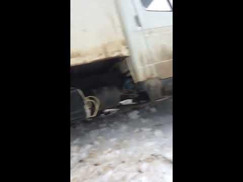 31.12.2016 Газ Валдай жарит. Сошли с поселочной дорожки