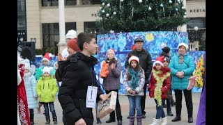 Победителем забега «Новогодняя миля» стал студент из Кисловодска