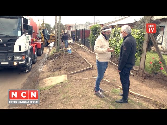 CINCO TV - Con inversión municipal, Tigre suma obras y servicios a más localidades