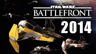 Star Wars Battlefront Space Battles Gameplay E3 2014 Incoming 3 III Playstation 4 PS4 Xbox One PC