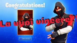 CONTEST IKONIK SKIN LOOK AT THE DESCRIPTION Live fortnite ita #bellix #return #Rekins