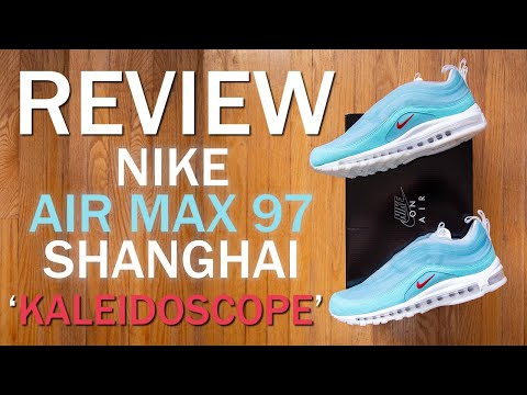 Nike x Cash Ru Air Max 97 Shanghai Kaleidoscope Review