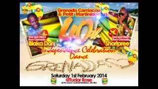 Grenada, Carriacou & Petite Martinique 40th Independence Promo Mix [DJ Socaholic]