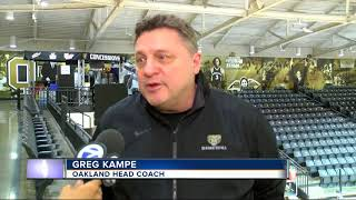 Oakland's NCAA Tournament dreams still within reach at Motor City Madness