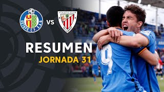 Resumen de Getafe CF vs Athletic Club (1-0)