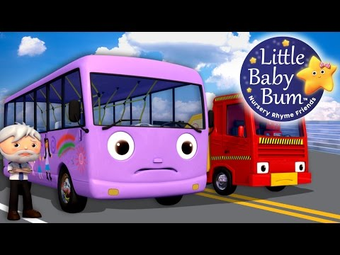 Thumbnail: Wheels On The Bus | Part 9 | Nursery Rhymes | By LittleBabyBum!