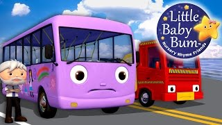Wheels On The Bus | Part 9 | Nursery Rhymes | By LittleBabyBum