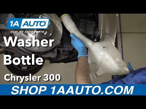 How to Replace Washer Fluid Bottle 06-10 Chrysler 300