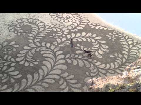 Ocean Beach Sand Art