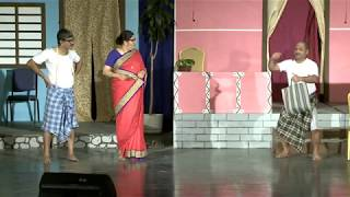 """ Maka Nangi "" Konkani Drama comedy scene played at KWAK"