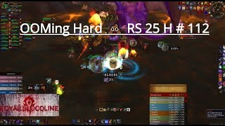 World Of Warcraft | OOMing Hard 💩 Ruby Sanctum 25 Heroic # 112 🆚 Hunter