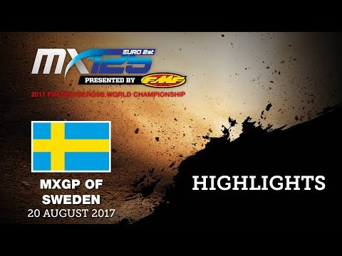 EMX125 Presented by FMF Racing Race1 Highlights - MXGP of Sweden 2017