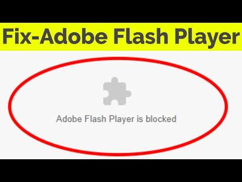 Unblock Adobe Flash Player Is Blocked In Google Chrome||Fix Adobe Flash Content Was Blocked On Edge