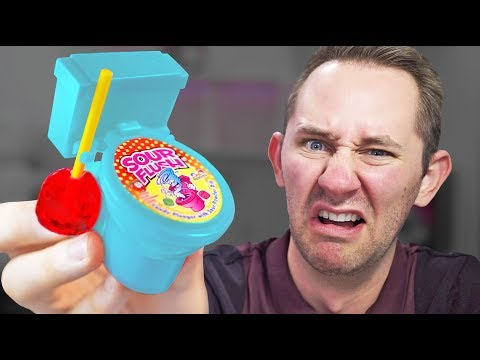 Toilet Candy? | 13 Strange Dollar Store Items Sent By Viewer
