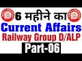 Current Affairs-6 for Railway Group D ALP and Technicians Exam 2018