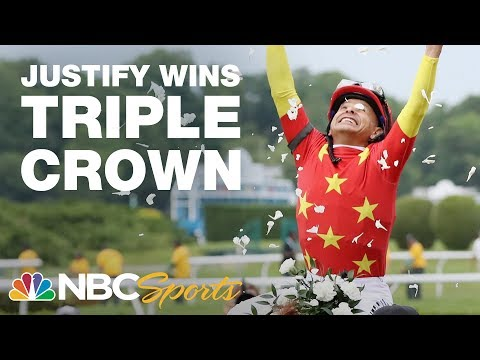Belmont Stakes 2018 I FULL RACE I Justifys Pursuit of the Triple Crown I NBC Sports