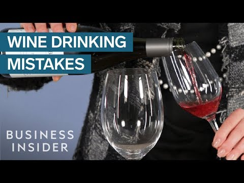 wine article Biggest Mistakes Youre Making When Drinking Wine