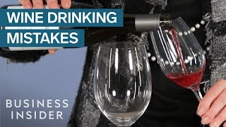 Biggest Mistakes You're Making When Drinking Wine