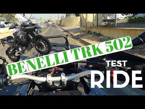 BENELLI TRK 502 TEST RIDE [Eng Sub]
