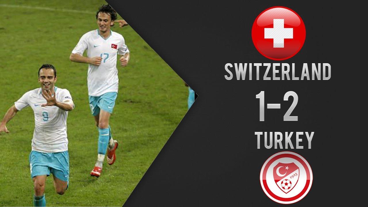 İsviçre 1-2 Türkiye - Euro 2008 Maç Özeti (11/06/2008)
