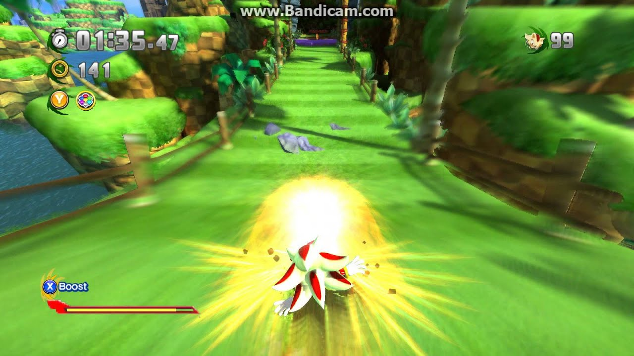 Sonic Generations Super Shadow V1 Release Outdated
