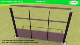 Futurewood Enviroslat Fence Construction Animation