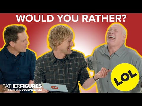 Download Youtube: The Cast of Father Figures Plays Would You Rather