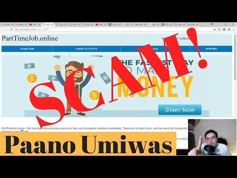 PartTimeJob.online SCAM + Guide and Tips pano malaman ang SCAM na sites