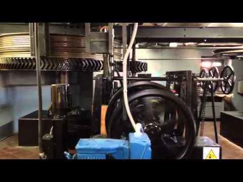 Valparaiso Chile Funicular Engine