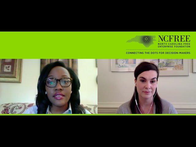 NCFREE Candidate Interview - Natalie Murdock, SD-20