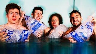 ► Ice Jacuzzi Challenge | Que Prefieres | Luisito Comunica, Lucas Castel y Mariano Bondar