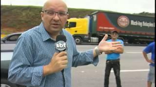 Manifestação do MST em Santo Antônio do Amparo