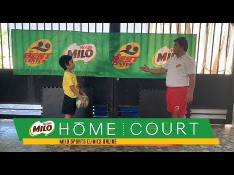 MILO Sports Clinics Online- Basketball: Week 4 (Ball Handling Confidence Part 3)