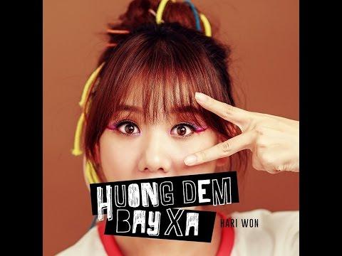 Hương Đêm Bay Xa - Hari Won ( Lyric Video )